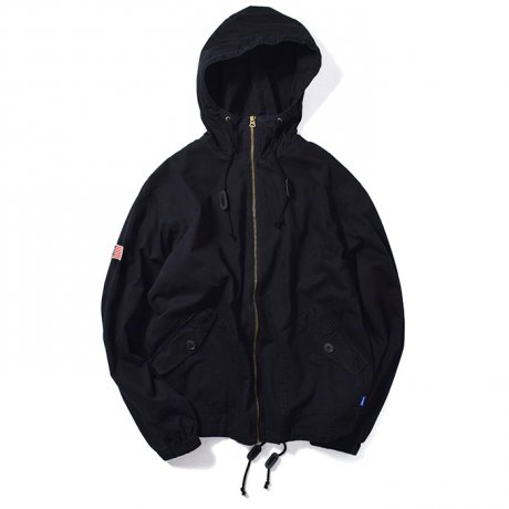 LAFAYETTE / MILITARY HOODED FIELD JACKET(BLACK)