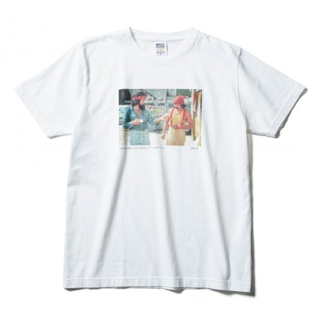 CLUCT / CHEECH&CHONG × CLUCT S/S TEE(WHITE)