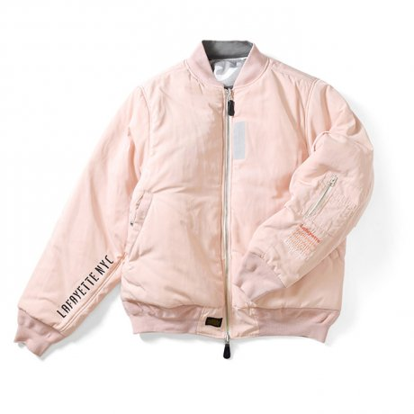 LAFAYETTE / CAMO REVERSIBLE FLIGHT JACKET(PINK)