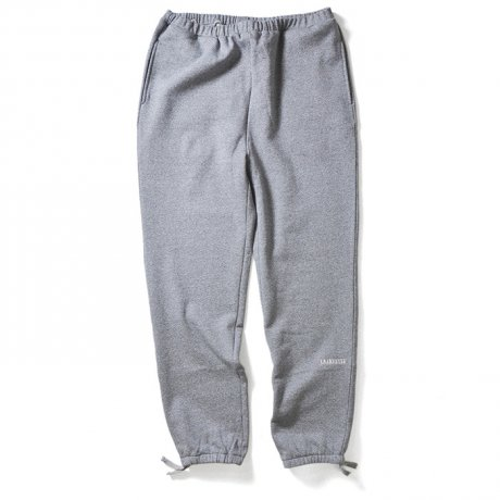 LAFAYETTE / BLACK LETTER HEATHER SWEATPANTS