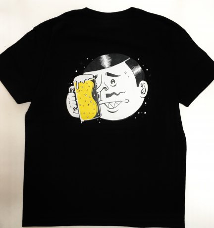 MANAGE*DESTROY / ESOW BEER TS [BLK]