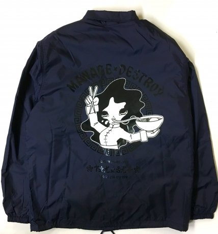MANAGE*DESTROY / YUMYUM NOODLE BOA WINDBREAKER [NAVY]