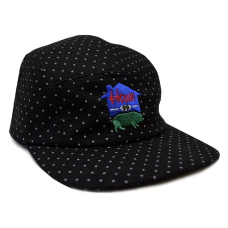 afterbase [HOUSE]5PANEL CAP black
