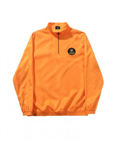 HELAS / SOURCE QUARTER ZIP(ORANGE)
