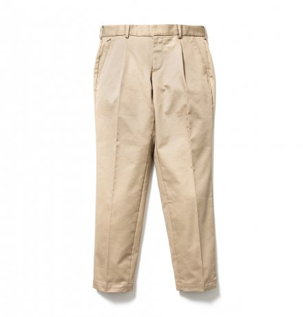 SON OF THE CHEESE / wide tack pants(BEIGE)