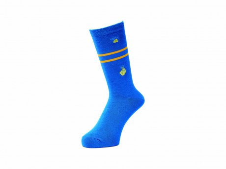 WHIMSY / 32/1 FRESH DELIVERY SOCKS(BLUE)