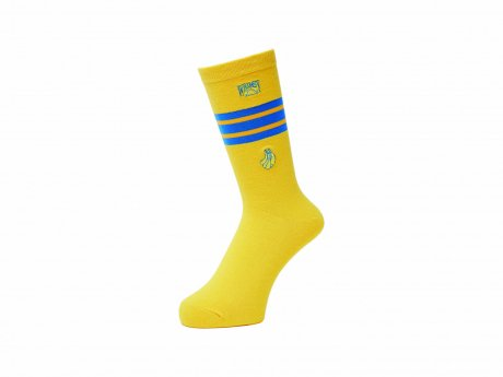 WHIMSY / 32/1 FRESH DELIVERY SOCKS(YELLOW)