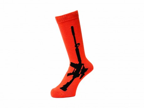 WHIMSY / 32/1 GUN SOCKS(ORANGE)