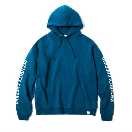 MAGIC STICK / ALREADY CHECKED HOODIE(EMERALD)