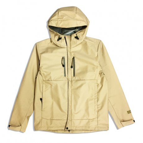 "MANAGE*DESTROY ""3LAYER NYLON JKT"" [BEIGE]"