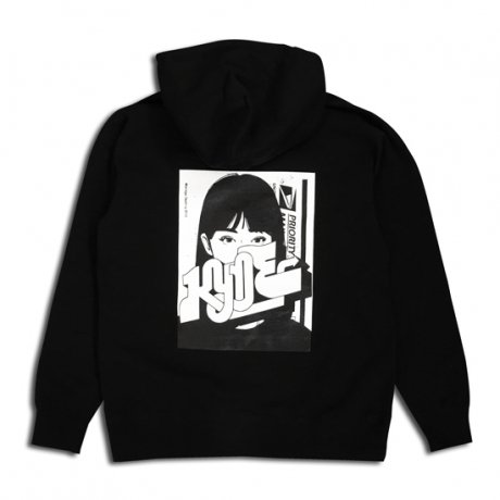 M*D / KYNE C&P HOODY  [BLK]  <img class='new_mark_img2' src='//img.shop-pro.jp/img/new/icons47.gif' style='border:none;display:inline;margin:0px;padding:0px;width:auto;' />