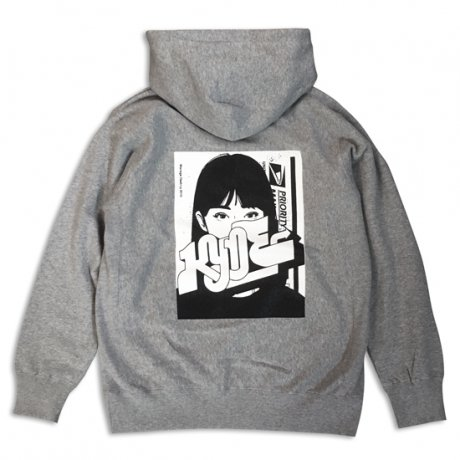 M*D / KYNE C&P HOODY  [GRAY]<img class='new_mark_img2' src='//img.shop-pro.jp/img/new/icons47.gif' style='border:none;display:inline;margin:0px;padding:0px;width:auto;' />