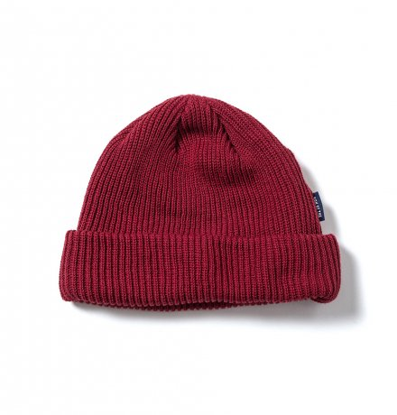 SON OF THE CHEESE / C100 KNITCAP(WINE)