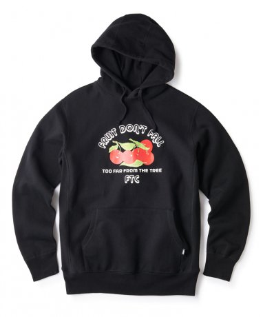 FTC / FRUIT DON' T FALL PULLOVER HOODY(BLACK)
