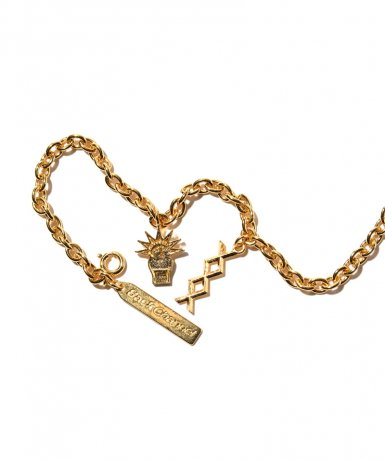 BACK CHANNEL / CHAIN BRACELET(GOLD)
