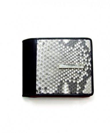 GARNI / Diamond Python Fold Wallet