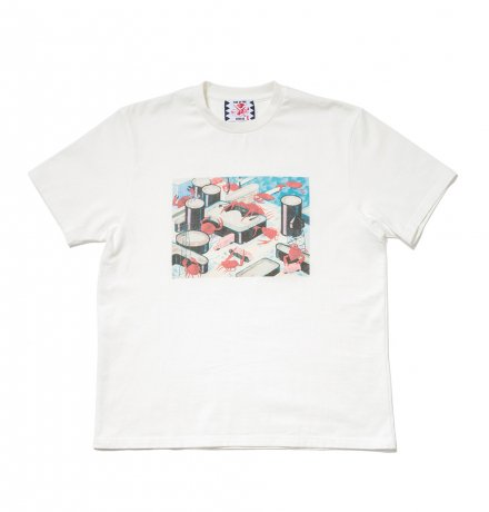 SON OF THE CHEESE / Seafood Revolt TEE(WHITE)