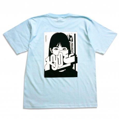 M*D / KYNE C&P T-SHIRTS  [LIGHT BLUE]