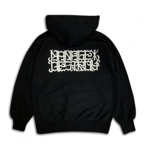 MANAGE*DESTROY /  REFLECT HOODY [BLACK]