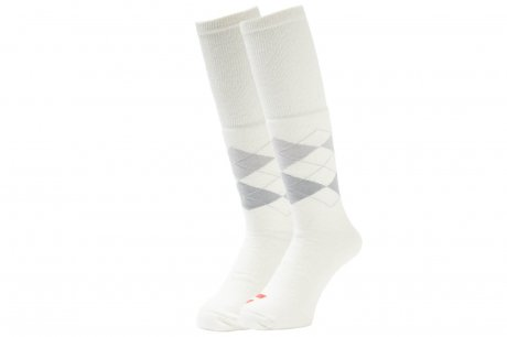 WHIMSY / TUBE ARGAYLE SOCKS(WHITE)