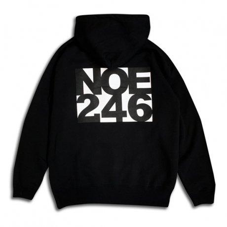 NOE246 / BACK PRINTED HOODY