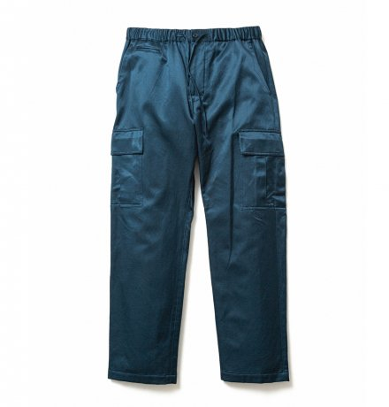 SON OF THE CHEESE / SATIN Cargo Pants(NAVY)