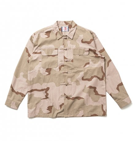SON OF THE CHEESE / China Shirt(BEIGE)