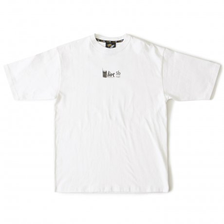 FAT / LIVE THREE(WHITE)