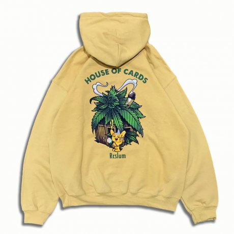 HOUSE OF CARDS HOODY [SAND]
