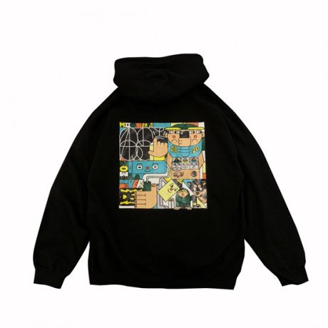 LURK / NOW OR NEVER HOODY [BLK]