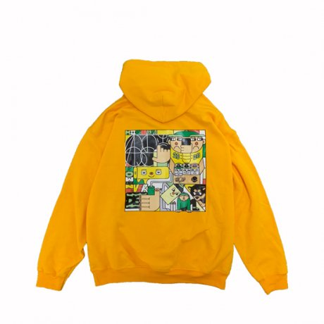 LURK / NOW OR NEVER HOODY [YELLOW]