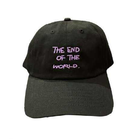 TOYAMEG / THE END OF THE WORLD CAP [BLACK]