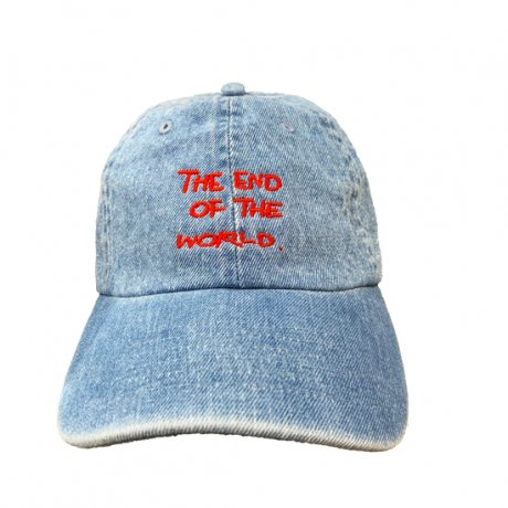 TOYAMEG / THE END OF THE WORLD CAP [DENIM]