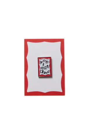 have a good time / ENVELOPE FRAME PIN(RED)