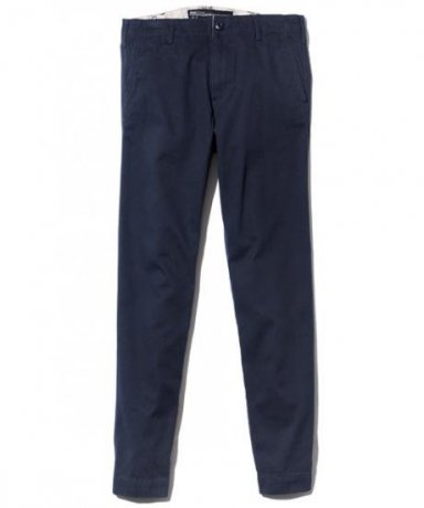 BACK CHANNEL / TAPERED CHINO PANTS(NAVY)