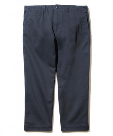 BACK CHANNEL / CROPPED CHINO PANTS(NAVY)