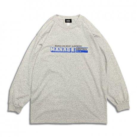 VIENT / MARKER LS Ts [MIX GRAY]