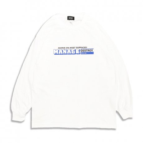 VIENT / MARKER LS Ts [WHITE]