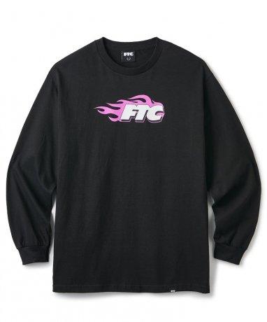 FTC / FLAME L/S TEE(BLACK)