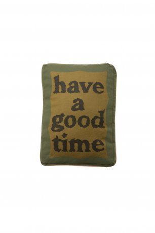have a good time / MILITARY FRAME CUSHION (MILITARY GREEN)