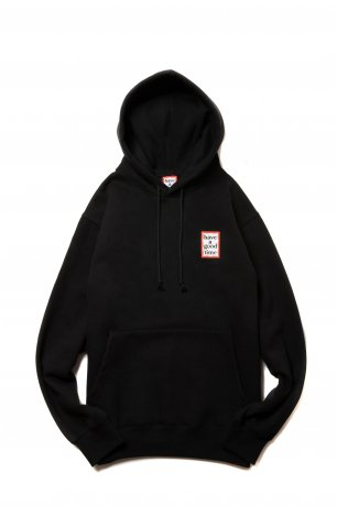 have a good time / MINI FRAME PULLOVER HOODIE(BLACK)