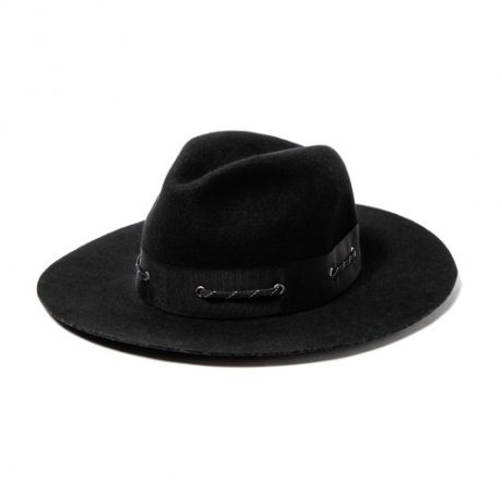 <img class='new_mark_img1' src='https://img.shop-pro.jp/img/new/icons20.gif' style='border:none;display:inline;margin:0px;padding:0px;width:auto;' />MAGIC STICK / GENTLE BUSH HAT(BLACK)