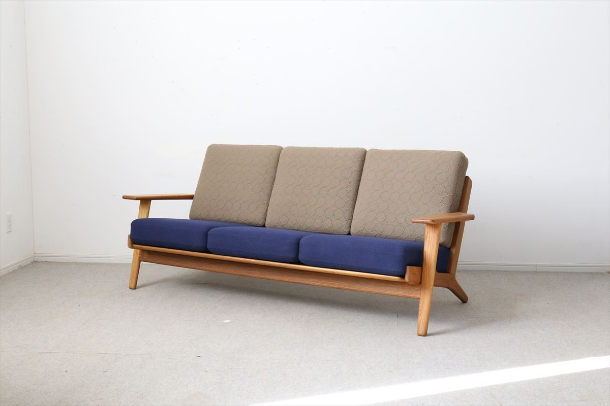I171-4/デンマーク家具/ソファ「GE2903」(オーク)/Hans J.Wegnerハンス・J・ウェグナー<img class='new_mark_img2' src='//img.shop-pro.jp/img/new/icons6.gif' style='border:none;display:inline;margin:0px;padding:0px;width:auto;' />