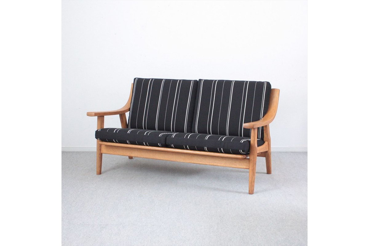 J175-134/デンマーク家具/ソファ「GE5302」(オーク)/Hans J.Wegnerハンス・J・ウェグナー<img class='new_mark_img2' src='//img.shop-pro.jp/img/new/icons6.gif' style='border:none;display:inline;margin:0px;padding:0px;width:auto;' />