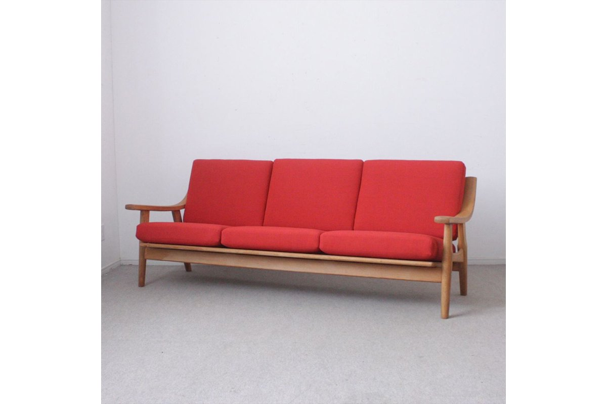 K179-86/デンマーク家具/ソファ「GE530」(オーク)/Hans J.Wegnerハンス・J・ウェグナー<img class='new_mark_img2' src='//img.shop-pro.jp/img/new/icons6.gif' style='border:none;display:inline;margin:0px;padding:0px;width:auto;' />