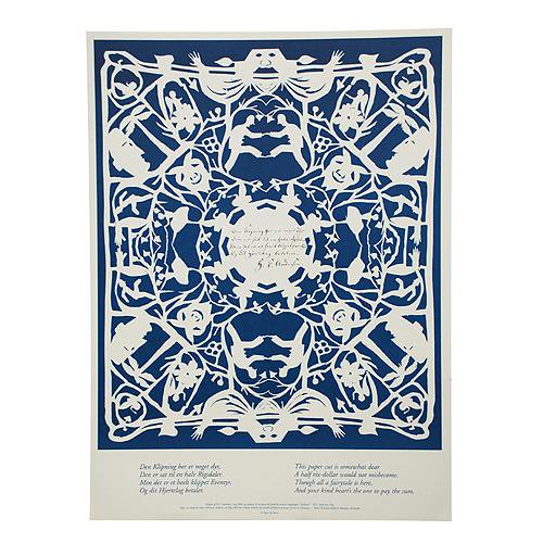 アンデルセンポスター BLUE