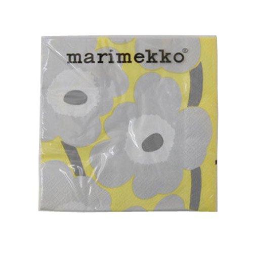 マリメッコ ペーパーナプキン UNIKKO YE/GY 33×33