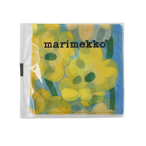 マリメッコ デコレーションペーパー24 水色