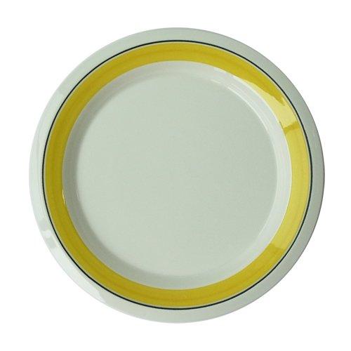 ARABIA Faenza 黄ライン ケーキ皿