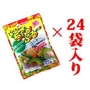 【送料半額】らくちんちゃんぷるーゴーヤー 24袋セット